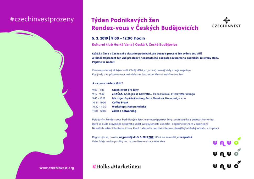 Pozvánka naakci Týden podnikavých žen_CzechINVEST